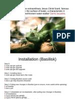 Basilisk tutorial