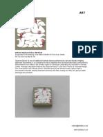 Hokusai Sparrow Dance - 360 Book