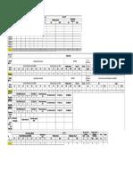 Format Parameter Pengukuran Inspeksi Kiln