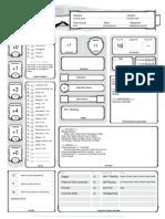 Gnashor - Character sheet