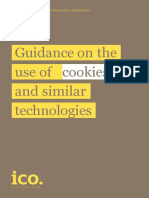 Guidance on the Use of Cookies and Similar Technologies 1 0