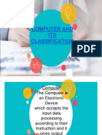 Computer and Its Classification