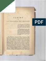 Sartre o La Filosofia Del Absurdo-