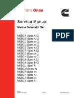 MDD Series Service Manual