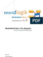 Mindlogik MediaNoteTaker for Research