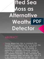 Tufted Sea Moss as Alternative Weather Detector-Final