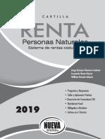 Declaracion de Renta 2018 Cartilla Segun Cedulas