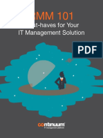 eBook RMM 101 Must Haves for Your IT Management Solution