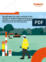 Specification for Safe Working in the Vicinity of Cadent
