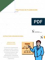 ESTRATEGIAS Y POLITICAS DE PLANEACION