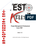 Project Management Professional Exam PMP