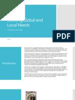 Meeting Global and Local Needs - Siemens.