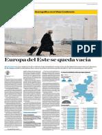Europa Del Este Se Queda Vacía
