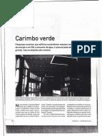 Texto Carimbo Verde