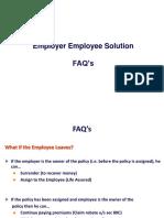 Emp Employee FAQ s