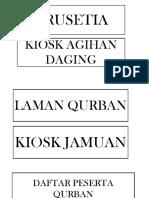 Labelling Qurban 2018
