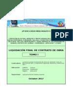 Liquidacion Final Quinua