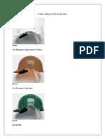 Hard Hat color code