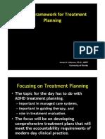 ADHD Framework for Treatment Planning