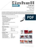 Multiherramienta Einhell tc-mg-220-e (1)