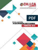 Evaluacion Del Poi 2019 Primer Trimestre