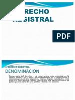 DERECHO REGISTRAL 5 SEMANA