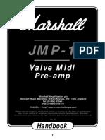 Marshall JMP1 Handbook Original