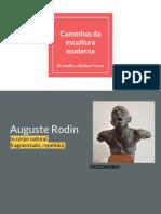 2oBim2019_Caminhos Da Escultura Moderna