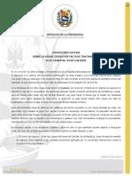 COMUNICADO OFICIAL SOBRE LA GRAVE CRISIS POR FALTA DE TRATAMIENTO EN EL HOSPITAL JM DE LOS RÍOS