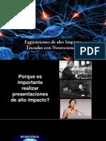 Exposiciones de Alto Impacto Trazadas Con Neurociencias 0.1