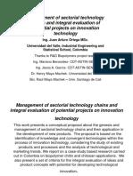fundamentos de gestión tecnologica