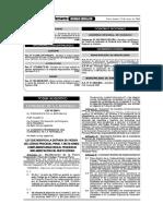 Implementación - Ley 28671 - Comisión Distrital