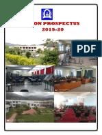 Prospectus 2019-20