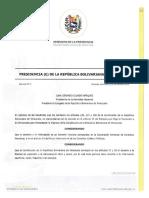 DECRETO 5  - CREACIÓN DEL CENTRO DE COMUNICACIÓN NACIONAL