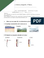 2° año   -  Historia    -   Prueba Adaptada    -   Pueblos Prehispanicos