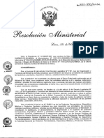 RM 833 2015 y  Modificatoria