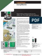 Hygromètre Laserliner DAMPMASTER.pdf