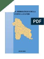 ESTUDIO  HIDROLÓGICO DE LA CUENCA AYAVIRI.docx