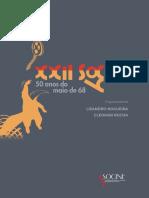"""XXII Socine - """"50 Anos de Maio de 68"""""""