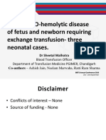 ABO hemolytic disease