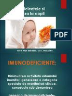 Imunodificiete La Copii