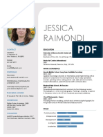 jessica raimondi resume 2019