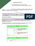 Math solving Algebraic Equations.docx