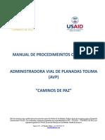 Manual de Procedimeintos Operativos