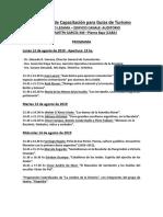 IX Jornada de Capacitación Para Guías de Turismo - Buenos Aires