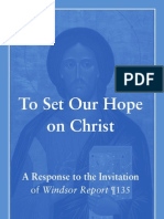 To Set Our Hope on Christ