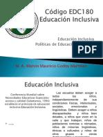 PRESENTACIÓN Politicas de Educación Inclusiva.pptx