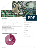 ESG Ratings and Data Model