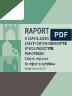 Raport Zabytki 2017 Pomorskie