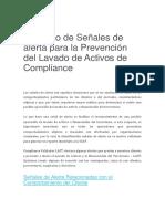 Catálogo de Señales de alerta para la Prevención del Lavado de Activos de Compliance.docx
